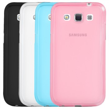Силиконовый матовый полупрозрачный чехол для Samsung Galaxy Win