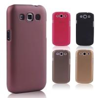 Пластиковый матовый металлик чехол для Samsung Galaxy Win