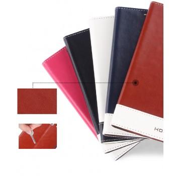 Двухцветный чехол флип подставка на пластиковой основе для Samsung Galaxy Win