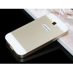 Двухкомпонентный чехол с металлическим бампером и двухцветной поликарбонатной накладкой для Samsung Galaxy Win