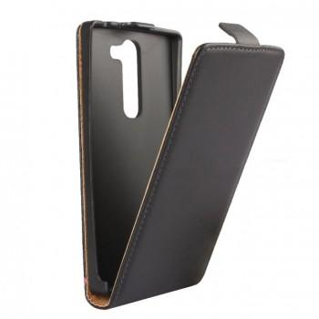 Чехол вертикальная книжка на пластиковой основе с магнитной застежкой для LG Magna