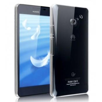 Пластиковый транспарентный чехол для Huawei Ascend D2