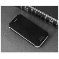 Чехол флип подставка водоотталкивающий для HTC One mini 2 Черный