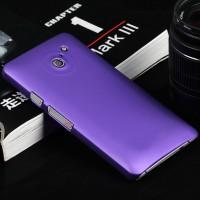 Пластиковый чехол серия Metallic для Huawei Ascend D2 Фиолетовый