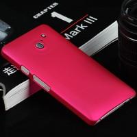 Пластиковый чехол серия Metallic для Huawei Ascend D2 Пурпурный