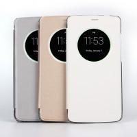 Чехол флип на пластиковой основе с круглым окном вызова для Elephone P8000
