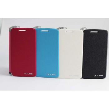 Чехол флип подставка на пластиковой основе для Elephone P8000