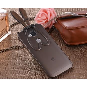 Силиконовый дизайнерский фигурный чехол со складными ушами для Huawei G8