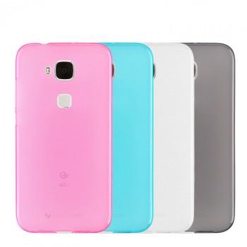 Силиконовый матовый полупрозрачный чехол для Huawei G8