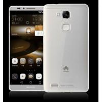 Силиконовый транспарентный чехол для Huawei G8