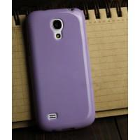 Силиконовый непрозрачный чехол для Samsung Galaxy S4 Mini Фиолетовый