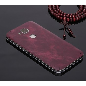 Ультратонкая 0.8 мм кожаная клеевая накладка для Huawei G8