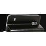 Чехол флип подставка водоотталкивающий на пластиковой основе для Samsung Galaxy S5 Mini