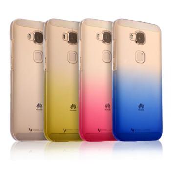 Пластиковый градиентный полупрозрачный чехол для Huawei G8