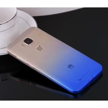 Силиконовый градиентный полупрозрачный чехол для Huawei G8