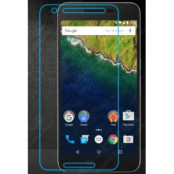 Ультратонкое износоустойчивое сколостойкое олеофобное защитное стекло-пленка для Google Huawei Nexus 6P
