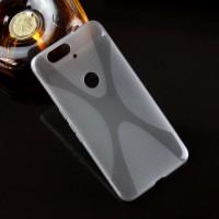 Силиконовый X чехол для Google Huawei Nexus 6P Серый