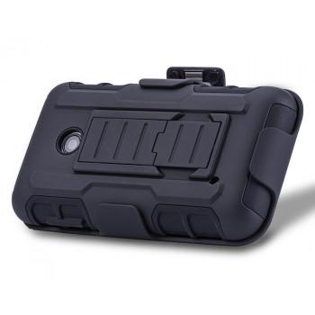 Антиударный силиконовый чехол экстрим защита с подставкой для Nokia Lumia 530