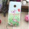 Пластиковый матовый дизайнерский чехол с УФ-принтом для Nokia Lumia 530