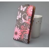Чехол вертикальная книжка на пластиковой основе с магнитной застежкой и полноповерхностным принтом для Nokia Lumia 625
