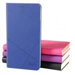 Текстурный чехол флип подставка на пластиковой основе с внутренним карманом для Nokia Lumia 625
