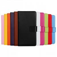 Чехол портмоне подставка на пластиковой основе с магнитной застежкой для Nokia Lumia 625