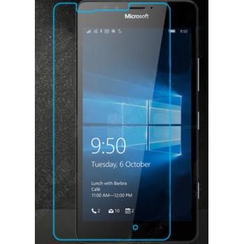 Ультратонкое износоустойчивое сколостойкое олеофобное защитное стекло-пленка для Microsoft Lumia 950