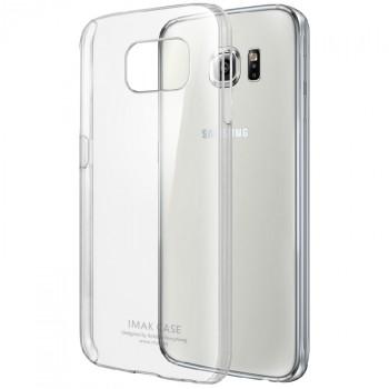 Пластиковый транспарентный чехол для Samsung Galaxy S6