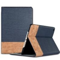 Текстурный чехол подставка с внутренними отсеками и тканевым покрытием для Ipad Mini 4