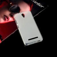 Силиконовый матовый полупрозрачный чехол для ASUS Zenfone Go Белый