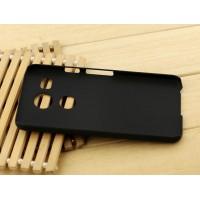 Пластиковый матовый чехол Металлик для Google LG Nexus 5X Черный