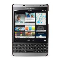 Эксклюзивный кожаный чехол накладка (2 вида нат. кожи) ручной работы для BlackBerry Passport Silver Edition Коричневый