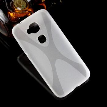 Силиконовый транспарентный X чехол для Huawei G8