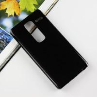 Силиконовый матовый чехол для LG Class Черный