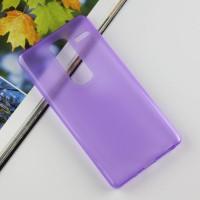 Силиконовый матовый чехол для LG Class Фиолетовый