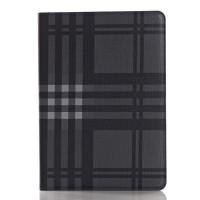 Текстурный чехол подставка с внутренними отсеками на поликарбонатной основе для Ipad Pro Черный