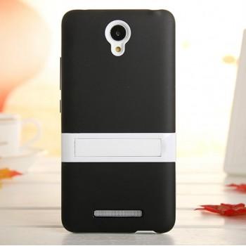 Двухкомпонентный силиконовый чехол с пластиковым бампером-подставкой для Xiaomi RedMi Note 2