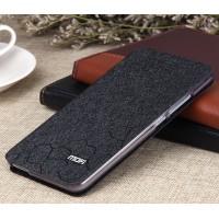 Текстурный чехол флип подставка на силиконовой основе Соты для Xiaomi RedMi Note 2 Черный