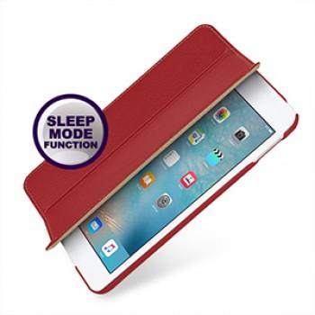 Эксклюзивный кожаный сегментарный смарт чехол подставка (нат. кожа) для Ipad Mini 4