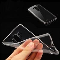 Силиконовый транспарентный чехол для LG G3 (Dual-LTE)