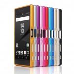 Металлический двухкомпонентный сборный бампер для Sony Xperia Z5 Premium