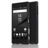 Металлический двухкомпонентный сборный бампер для Sony Xperia Z5 Premium Черный