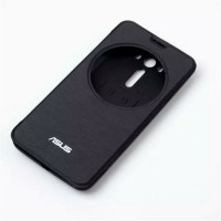 Встраиваемый чехол флип с фирменным круглым окном вызова для ASUS Zenfone 2 Laser 5 ZE500KL Черный