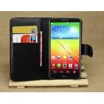 Чехол портмоне подставка для LG Optimus G2