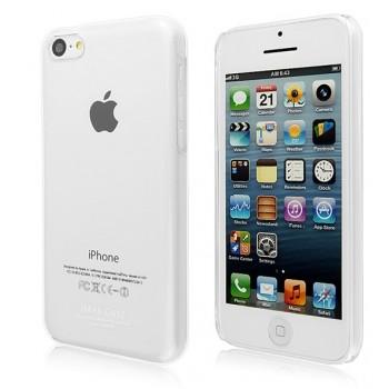 Пластиковый транспарентный чехол для Iphone 5c