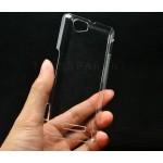 Пластиковый транспарентный чехол для Sony Xperia M