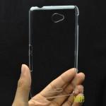 Пластиковый транспарентный чехол для Sony Xperia E4