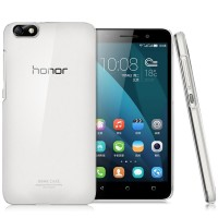 Пластиковый транспарентный чехол для Huawei Honor 4x