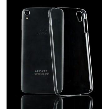 Пластиковый транспарентный чехол для Alcatel One Touch Idol 3 (4.7)