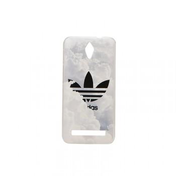 Пластиковый матовый дизайнерский чехол с УФ-принтом для ASUS Zenfone C